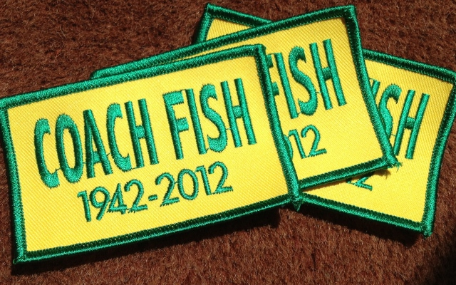 $10 each; proceeds benefit the Bob Fish Memorial Scholarship Fund